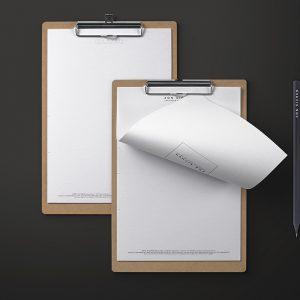 Zon Eichen Briefbogen